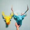 Объёмные 3D фигуры из бумаги.  Декор,  интересный и оригинальный подарок