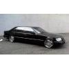 Элитный автомобиль  Mercedes-Benz S600  W140 Long белого/черного цвета с водителем.